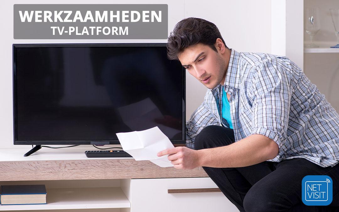 Werkzaamheden TV-platform
