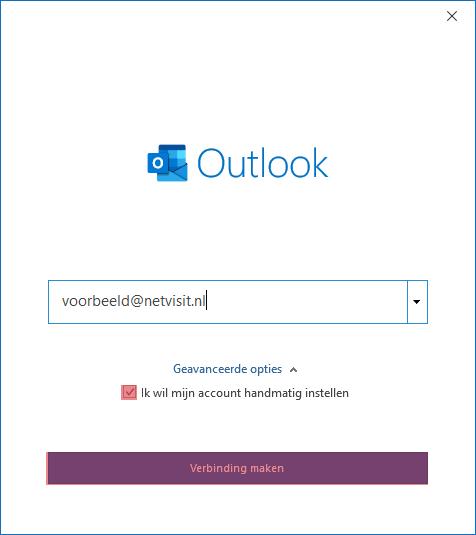 SKV mail instellen microsoft office 365 stap 3