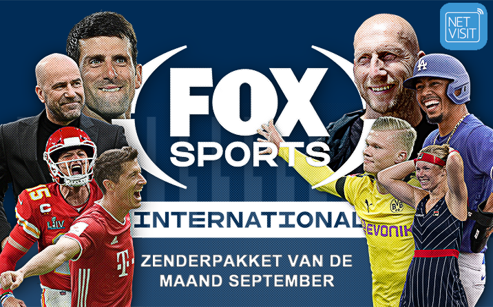 FOX Sports International – pakket van de maand september bij Netvisit