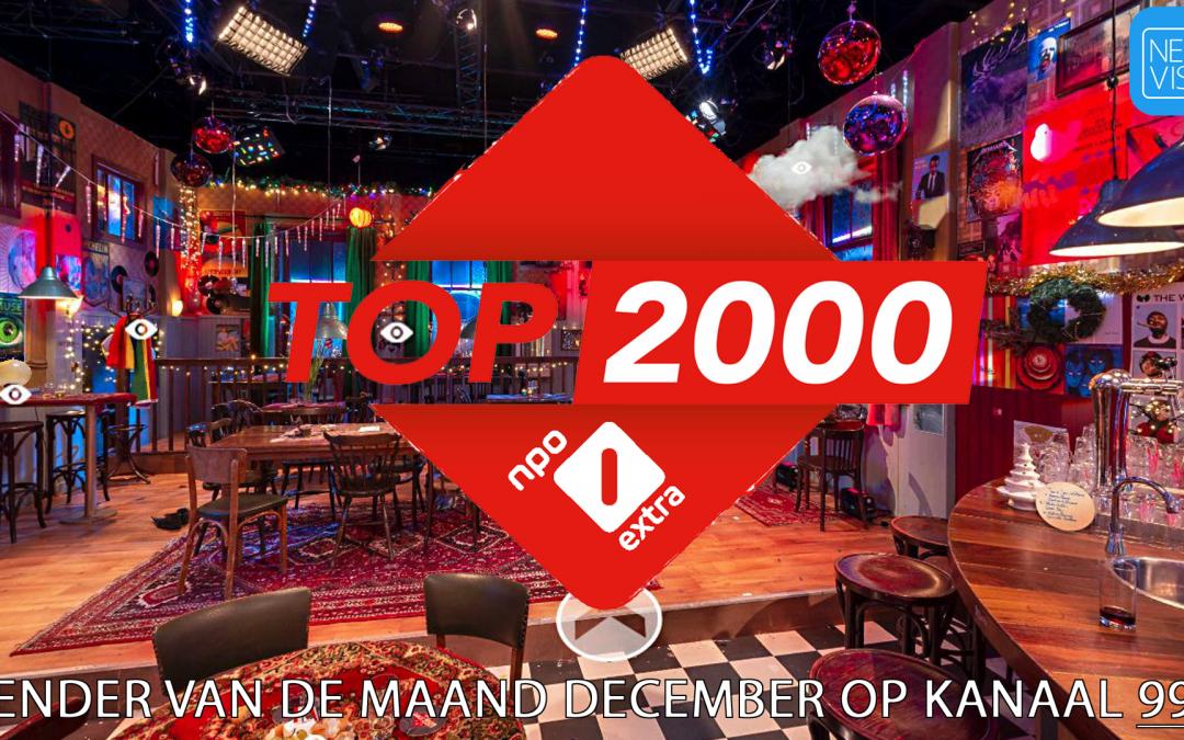 NPO 1 Extra zender van de maand december 2020