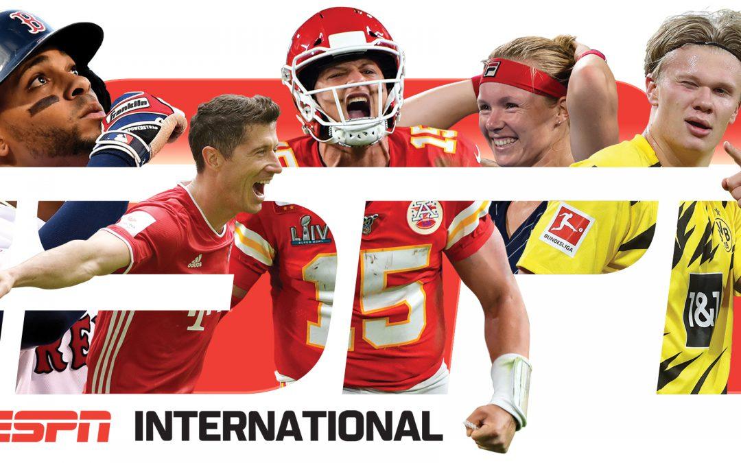 ESPN International – pakket van de maand maart bij Netvisit